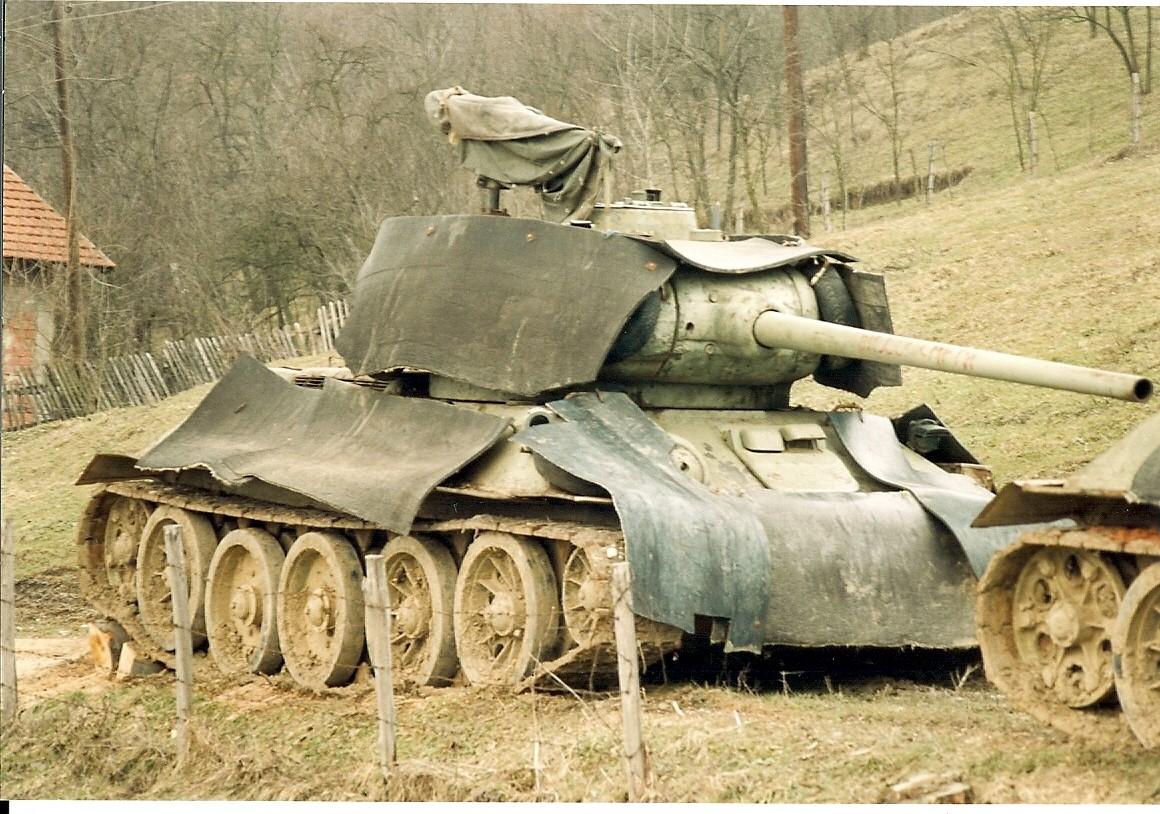 34s still in use...T 34 Tank Interior