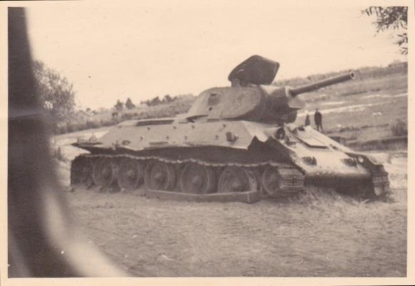 Russian T-34 tank