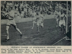 1500m Final at the 1912 Olympics in Stockholm