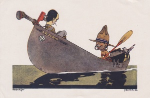 1918 Xmas Card Lemuel Lyes Collection