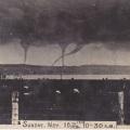 Chatham Island Waterspouts 1912