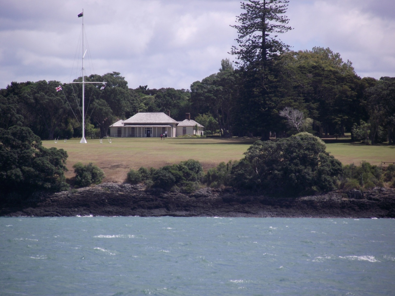 Waitangi Treaty Grounds - from the R. Tucker Thompson© Lemuel Lyes 2013
