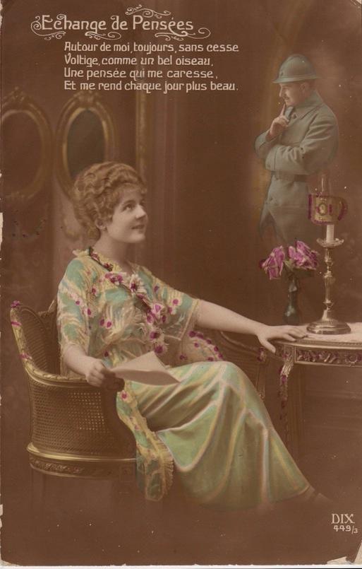 French postcard circa WW1Lemuel Lyes Collection