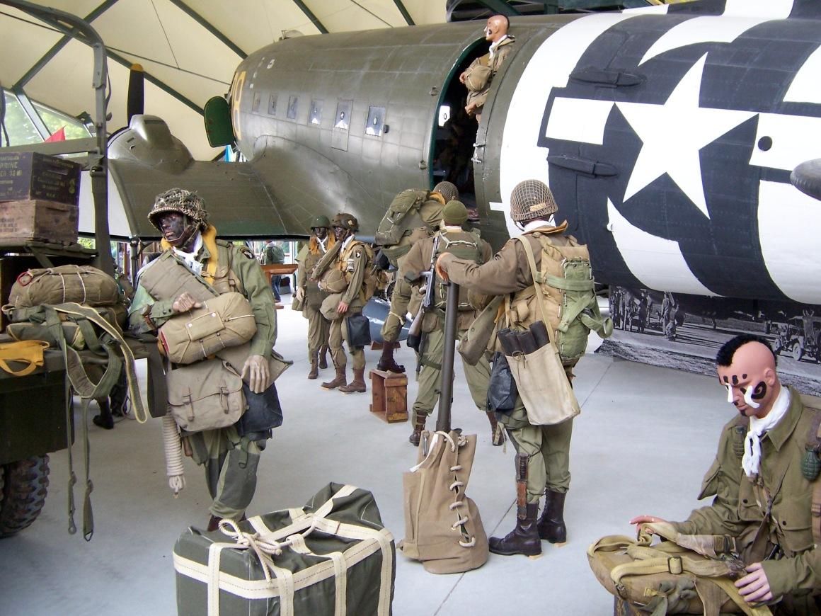 C-47 on display at the Musée Airborne, Sainte-Mère-Église © Lemuel Lyes