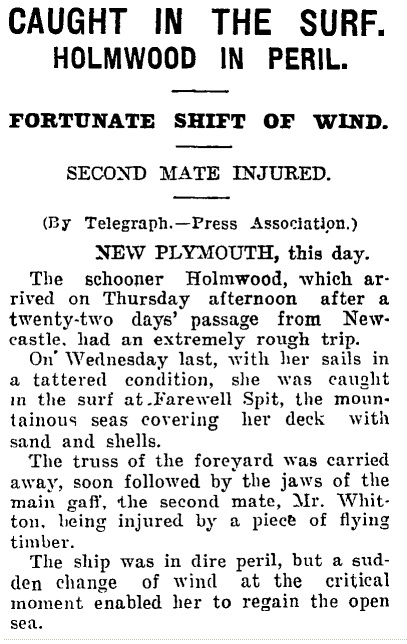 'Auckland Star' 3rd April 1926 Courtesy of Papers Past