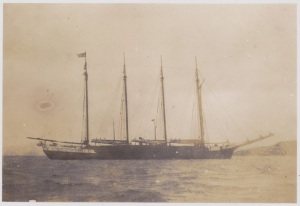The Yankee Schooner 'Forest Home' New Zealand 1920's Lemuel Lyes Collection