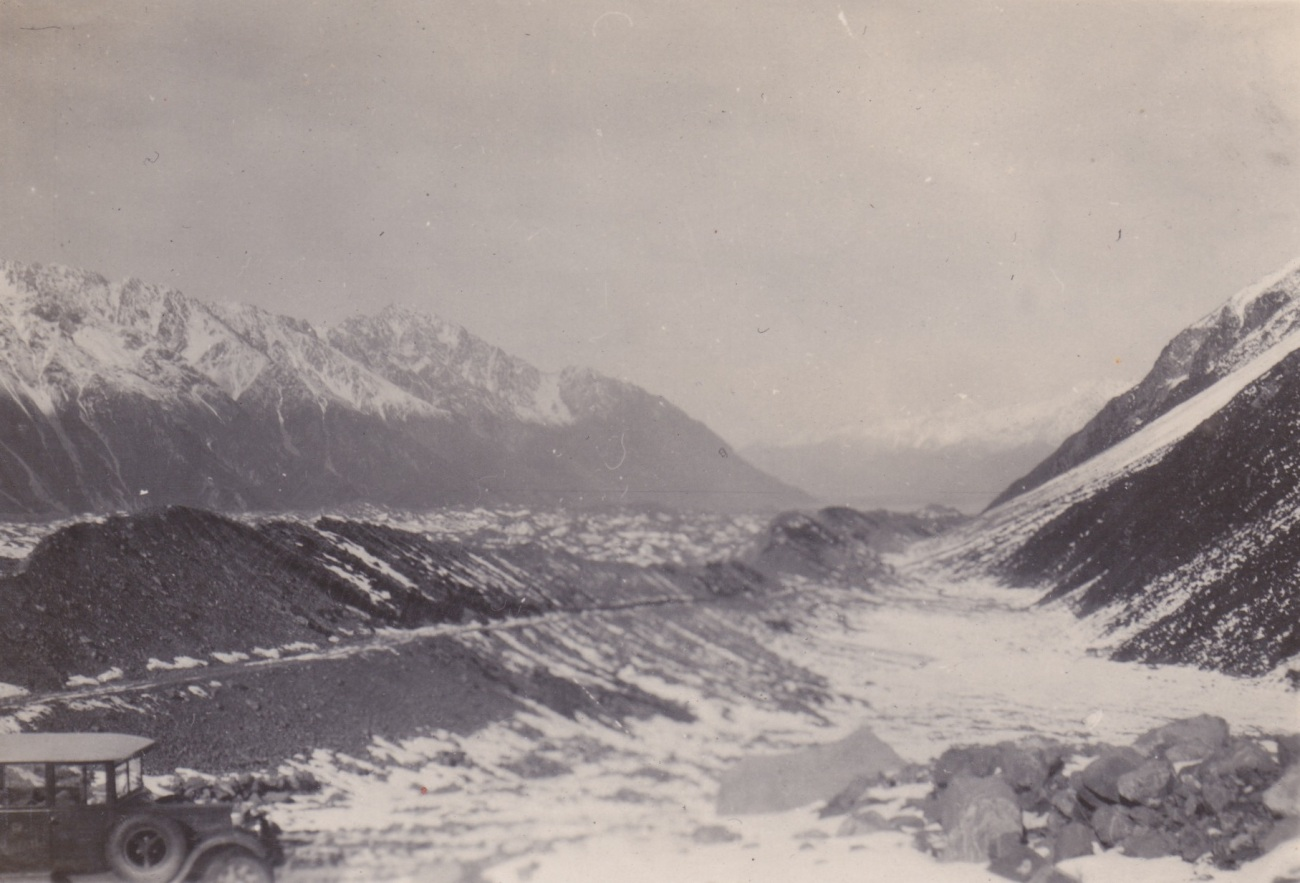 Tasman Glacier, 1933 Lemuel Lyes Collection