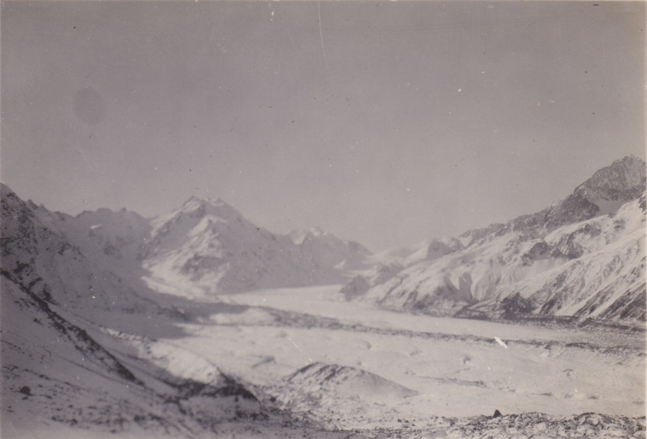 Aoraki/Mt. Cook and Tasman Glacier, 1933 Lemuel Lyes Collection