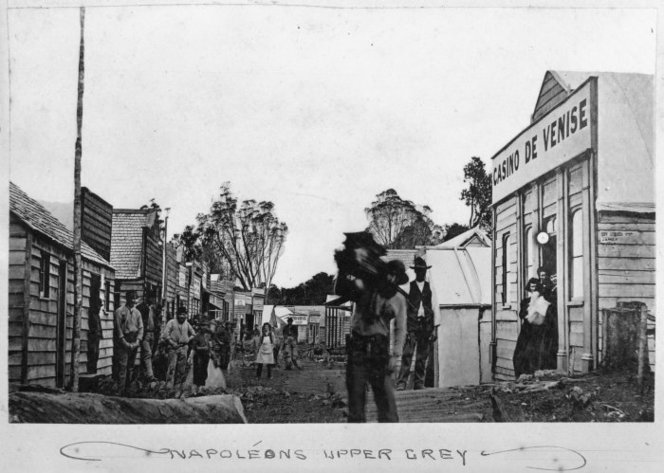 Napoleons Upper Grey. Ref: PA1-o-530-25. Alexander Turnbull Library, Wellington, New Zealand. http://natlib.govt.nz/records/23214037