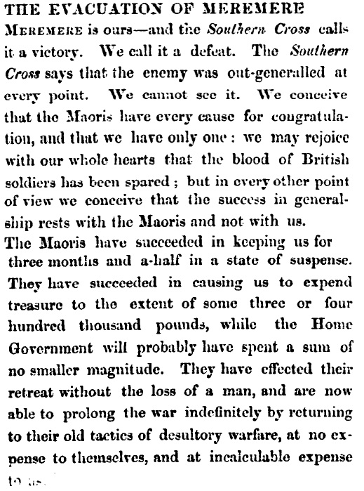 Press, Volume III, Issue 326, 16 November 1863, Page 2 Courtesy of Papers Past