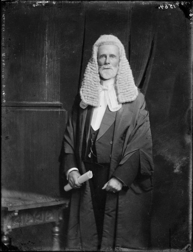 Sir Arthur Guinness, Speaker of the House of Representatives. S P Andrew Ltd :Portrait negatives. Ref: 1/1-015176-G. Alexander Turnbull Library, Wellington, New Zealand. http://natlib.govt.nz/records/22752326