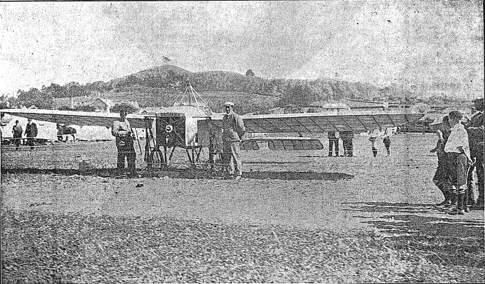 J.J. Hammond and the Britannia in Auckland Free Lance, Volume XIV, Issue 707, 17 January 1914