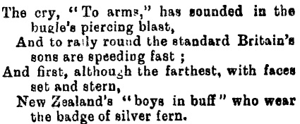 Ashburton Guardian, Volume XXI, Issue 4969, 18 November 1899 Courtesy of Papers Past