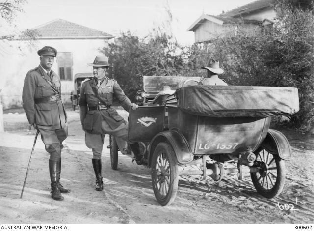 ANZAC Mounted Division's Model T Australian War Memorial Museum