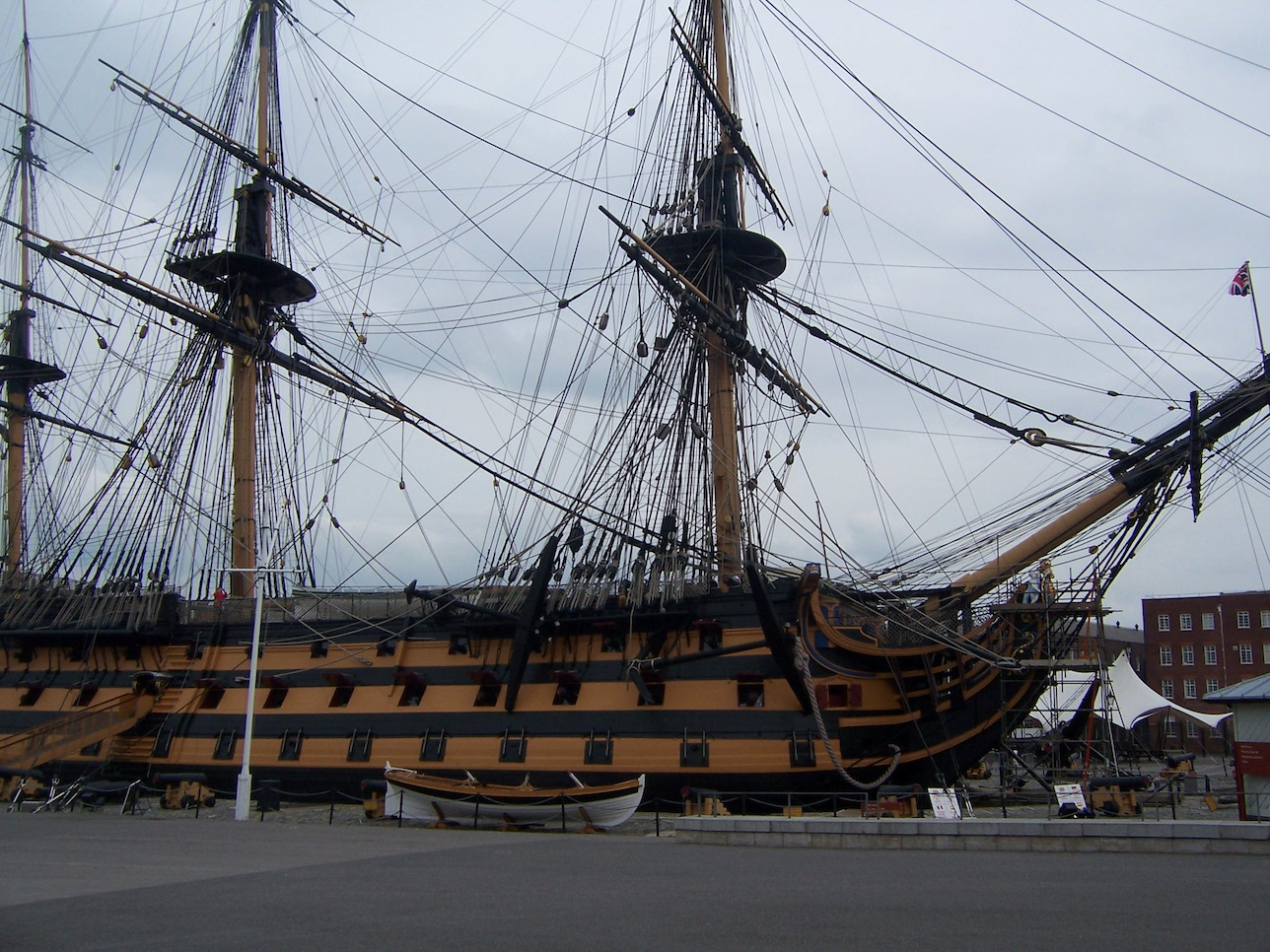 HMS Victory © Lemuel Lyes 2009