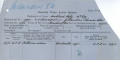 Casualty form in Tom's Military Personnel File in Archive New Zealand