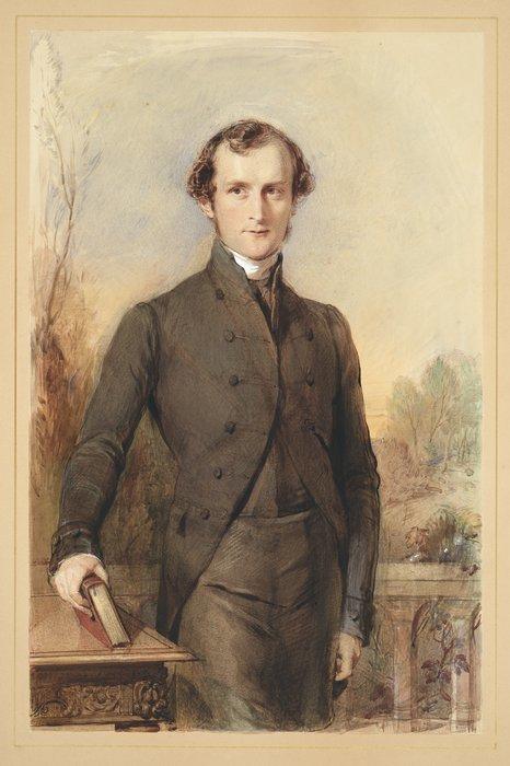 Richmond, George, 1809-1896. [Richmond, George], 1809-1896 :[George Augustus Selwyn. ca 1841]. Ref: C-162-003. Alexander Turnbull Library, Wellington, New Zealand. http://natlib.govt.nz/records/23215577
