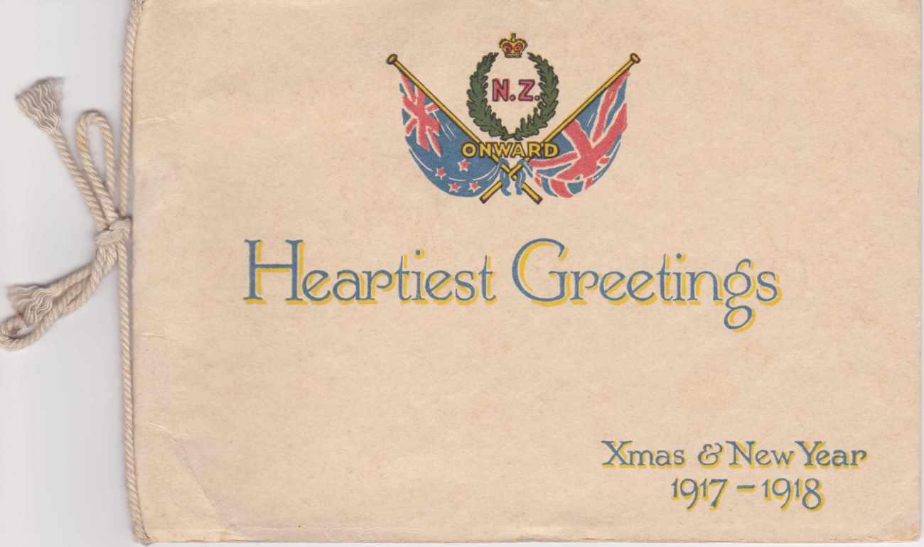 Xmas Card 1917 Front