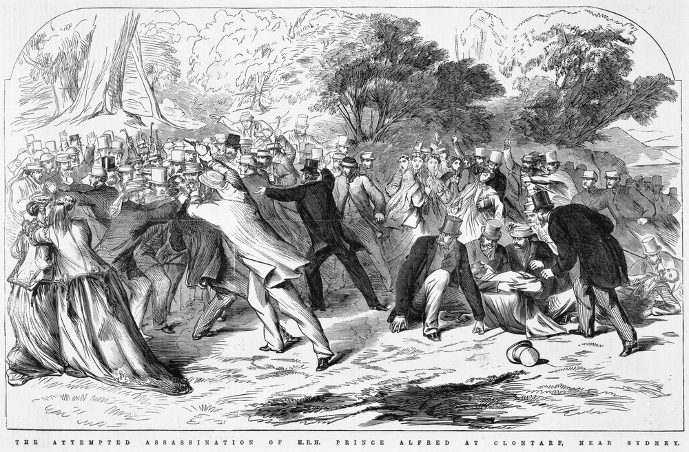 Attempted Assassination of H.R.H. Prince Alfred